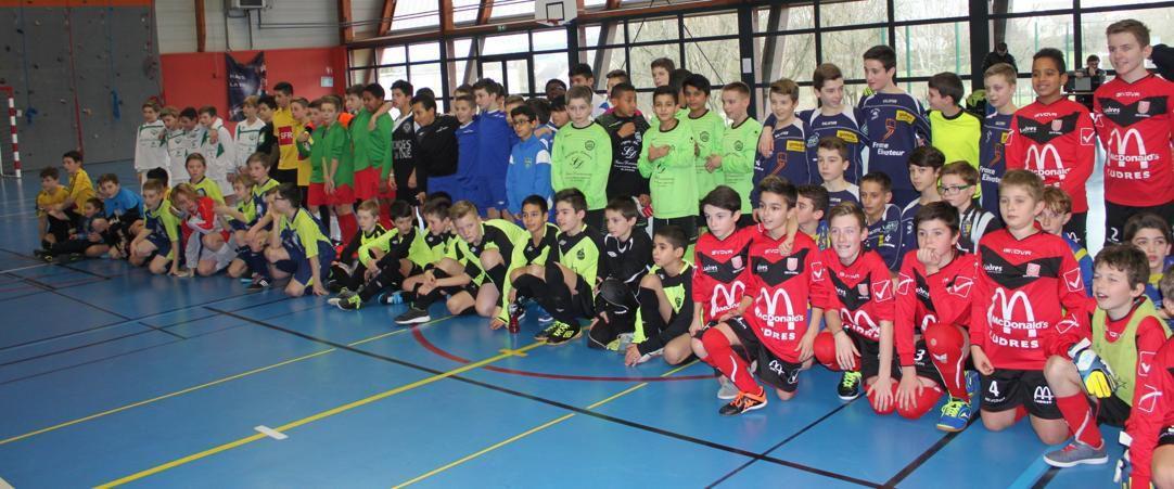 Tournoi réservé aux footballeurs de la catégorie U13.
