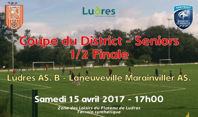 Coupe du District - Edition 2016-2017