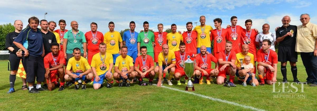 Seniors B : Vainqueurs de la Coupe de District 2016-2017