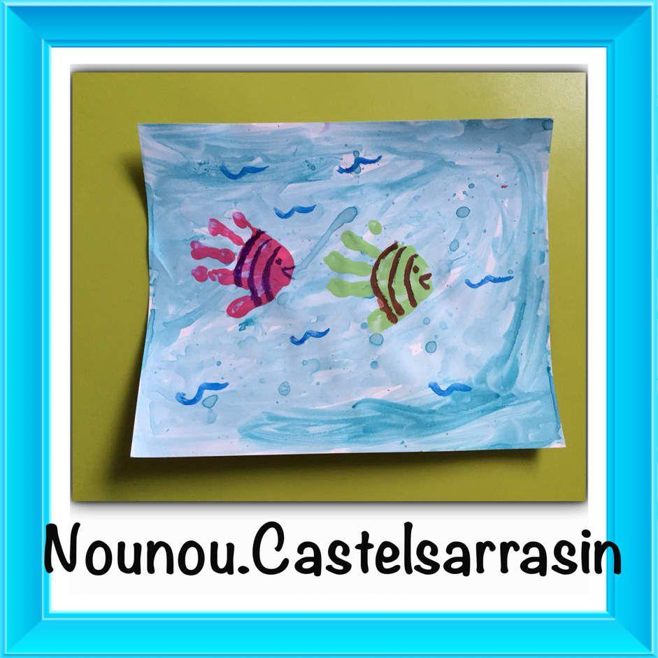 Les poissons dans l eau