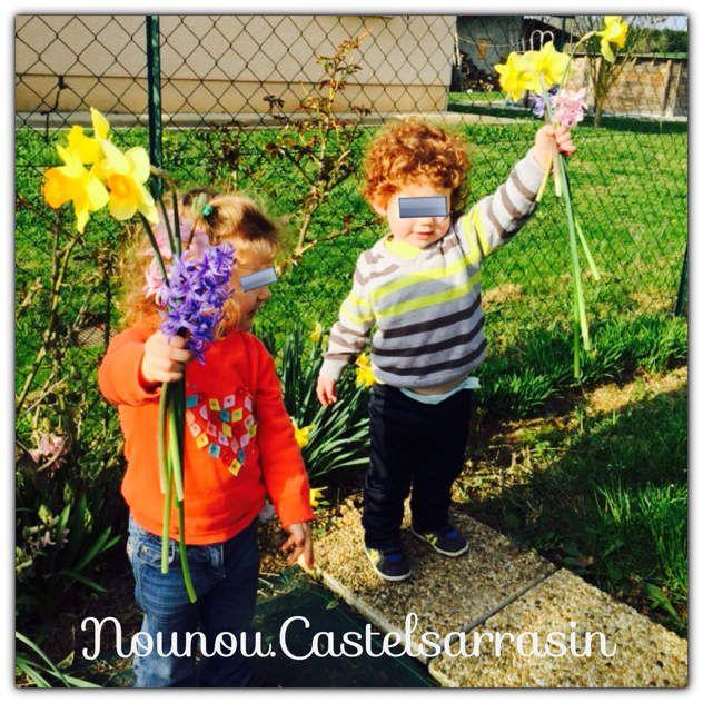 Fleurs pour annoncer le printemps
