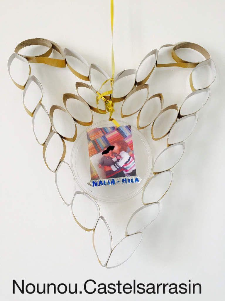 coeur en rouleau papier toilette