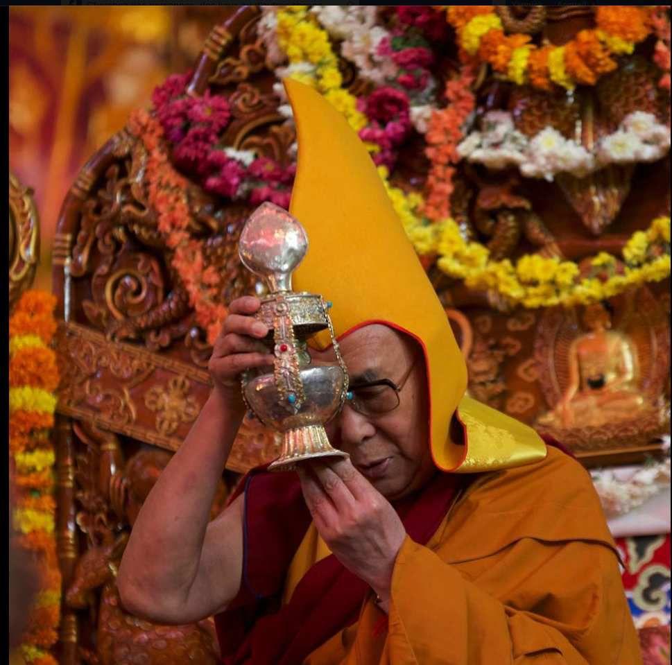 Sa sainteté le Dalai Lama – au monastère de Séra à Bylakuppe, Karnataka, Inde 14 -17 décembre 2015