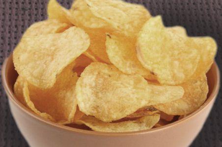 Chips de pomme de terre au micro ondes de l 39 assiette for Chips carotte micro onde