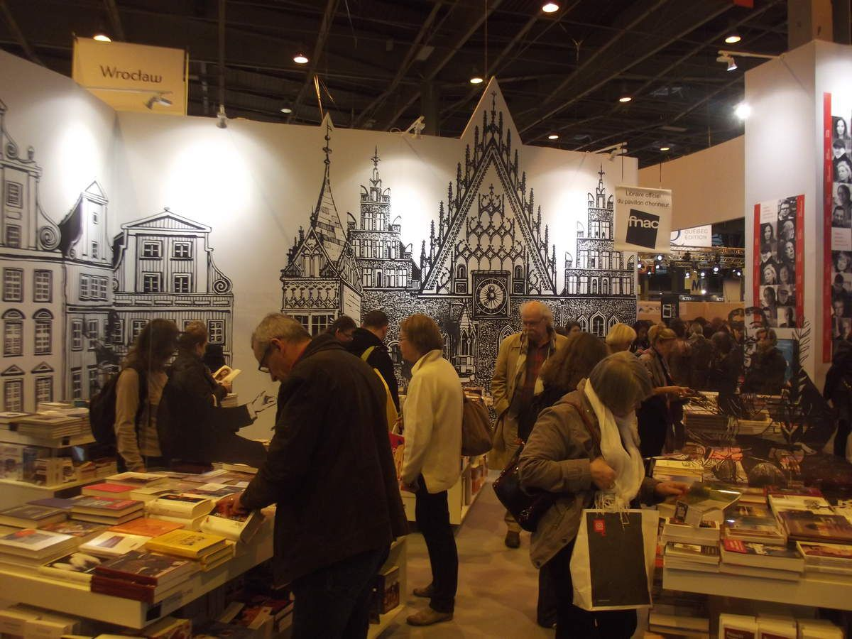 LE SALON DU LIVRE DE PARIS, UN REGAL