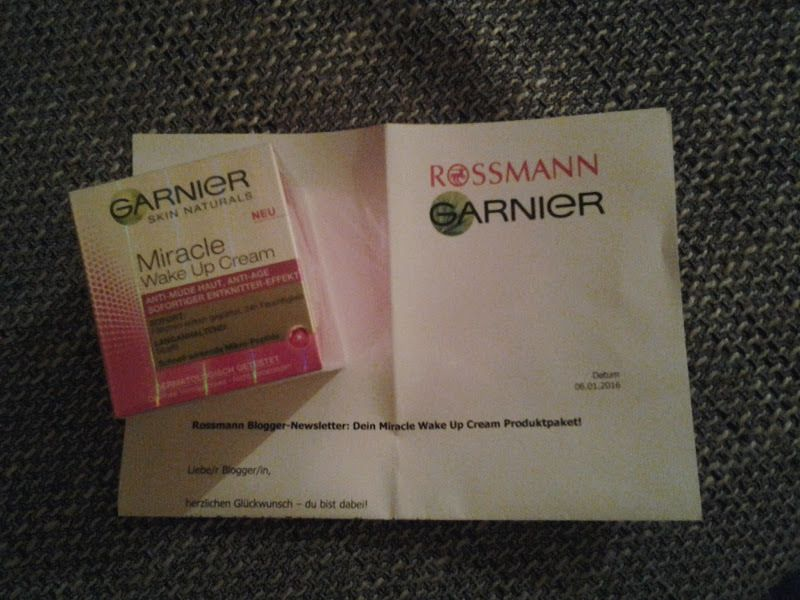 GARNIER Miracle Wake Up Cream im Test