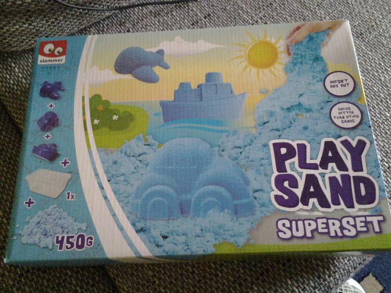 Super Spielsand für Drinnen - Ein kreatives Spielvergnügen....