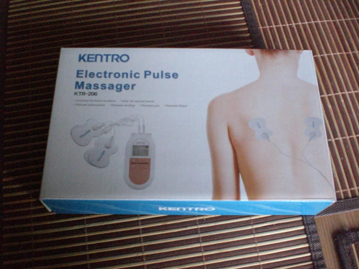 Naipo-KENTRO Puls Massage Ems Tens Elektrostimulationsgerät im Test...