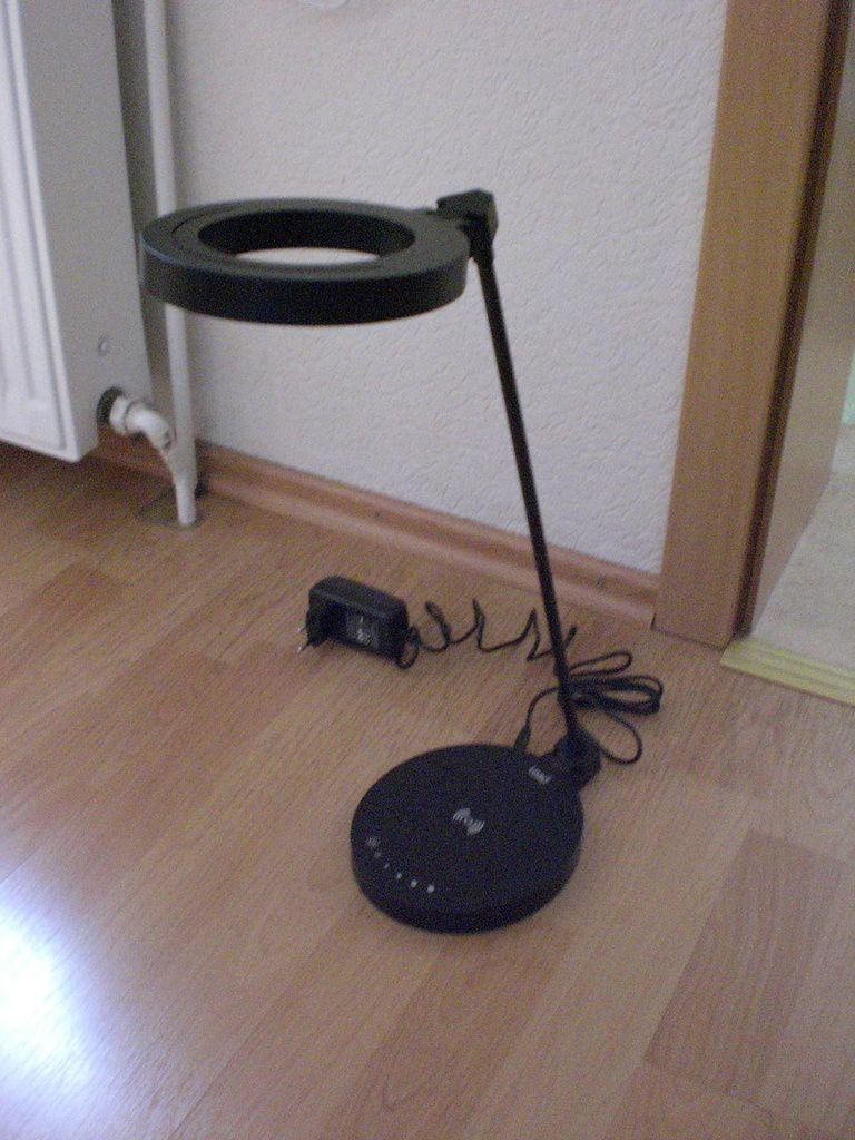 LED Tischleuchte im Test...