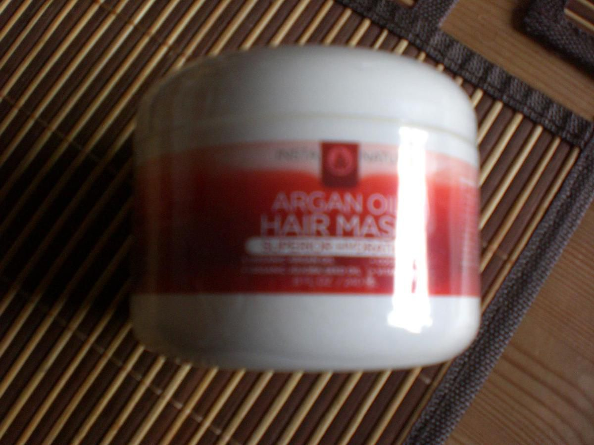 InstaNatural Argan Oil Hair Mask im Test...