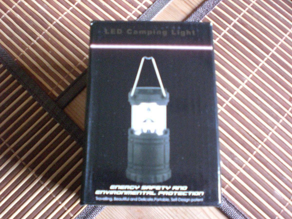 Lumin Tekco Tragbare Mehrzweck LED-Lampe im Test...