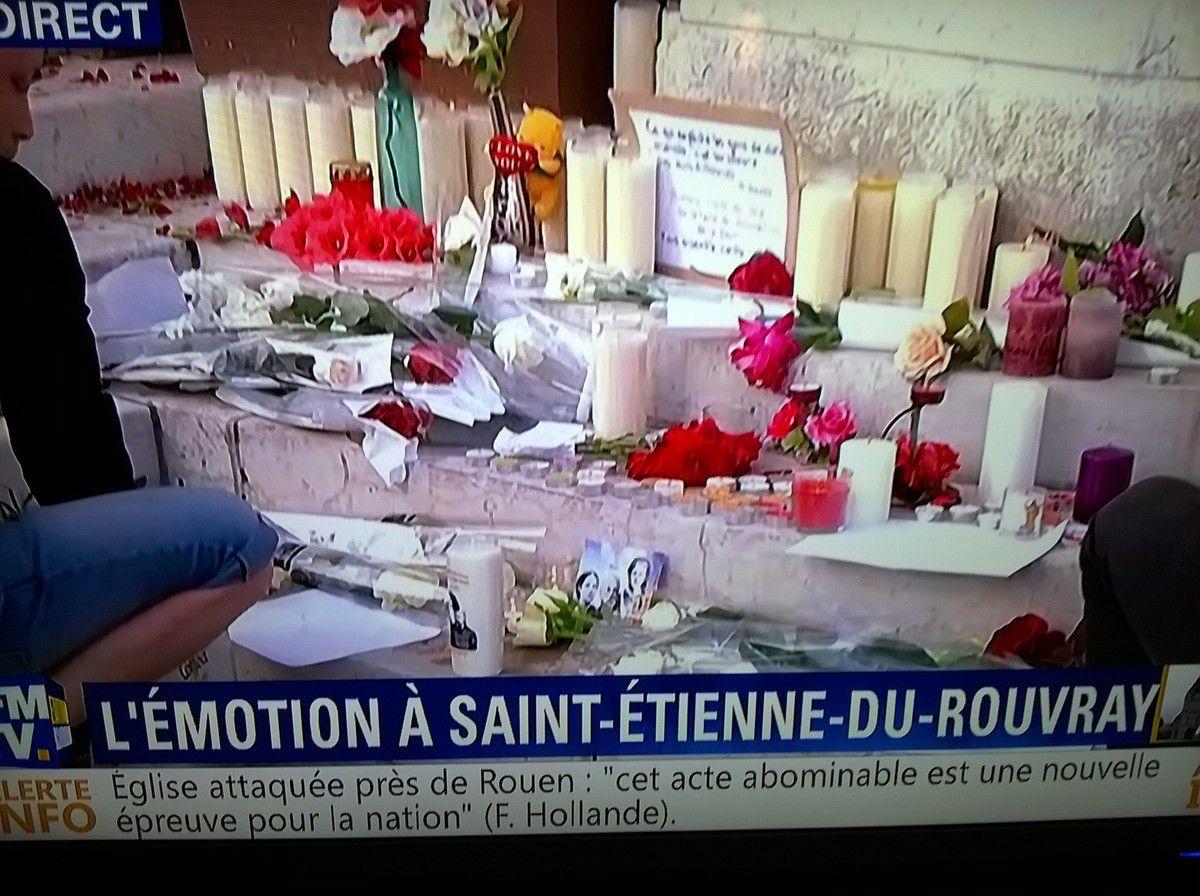 Hommage, à toutes les victimes d'attentats.