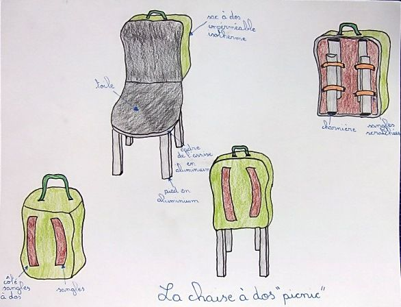 """Sac isotherme """"chaise picnic"""""""