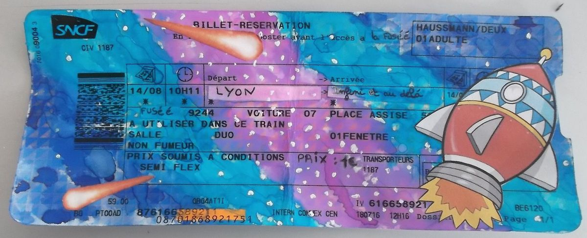 Un ticket vers...