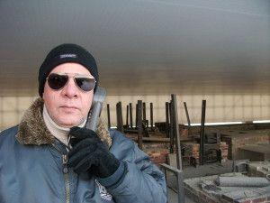 En los hornos crematorios del Campo de Concentración de Sachsenhausen, en las afueras de Berlín, 2009.