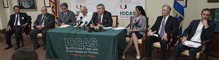 Conferencia de prensa sobre el II Encuentro Nacional Cubano en Puerto Rico
