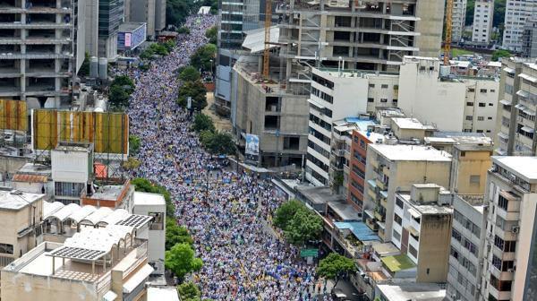 Biden hizo referencia al millón de venezolanos que marcharon en la Toma de Caracas