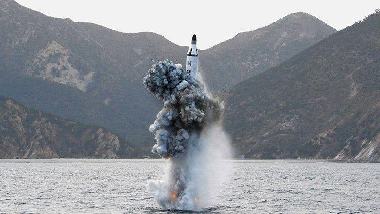 """Washington exhorta en un comunicado a que """"todos los países"""" reaccionen y muestren a Pionyang que el desarrollo de un misil balístico intercontinental tendrá """"consecuencias""""."""