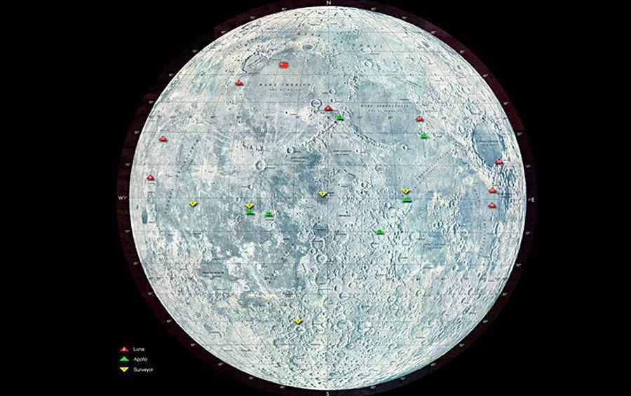 Las metas de la misión lunar de Vitali Egórov