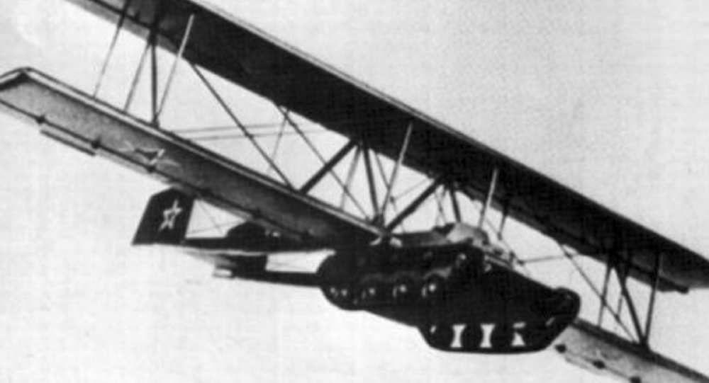 A-40 KT: el tanque volador de la URSS