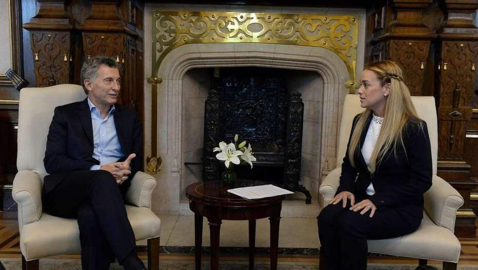 La dirigente dijo que Macri comparte su idea de pedir que Venezuela llame a elecciones presidenciales anticipadas.