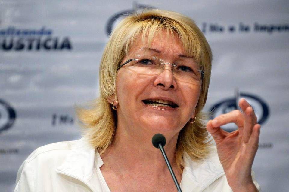 La fiscal general de Venezuela, Luisa Ortega Díaz, en una imagen de archivo de 21 de octubre de 2013. JUAN BARRETO AFP/Getty Images
