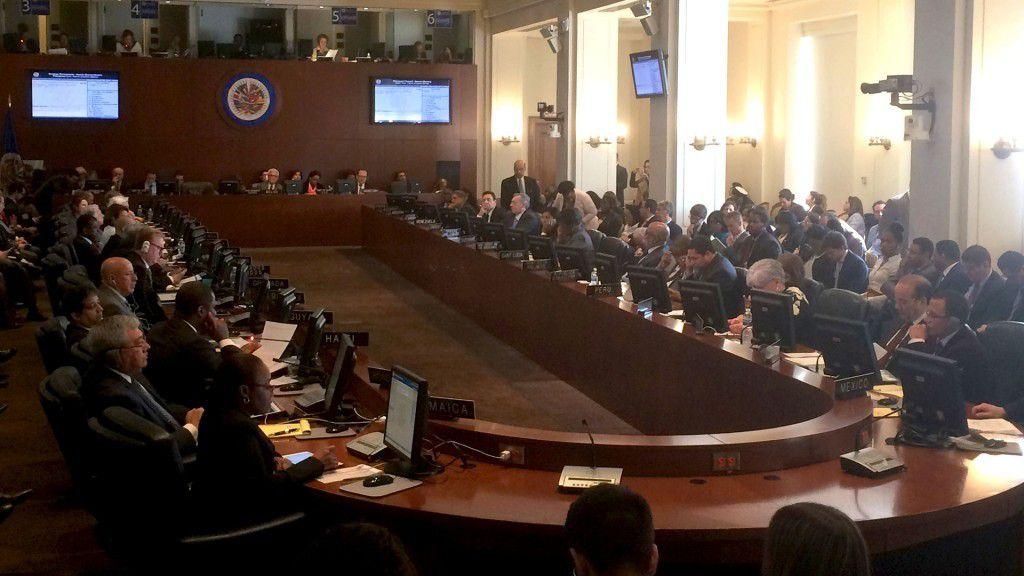 Bolivia bloqueó la sesión en la OEA sobre la crisis en Venezuela