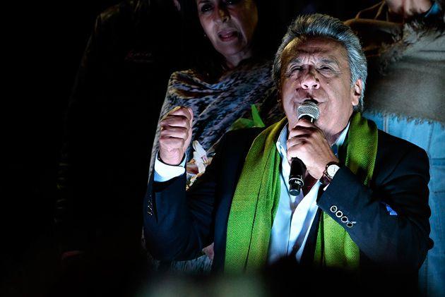 Lenín Moreno ganó las elecciones presidenciales en Ecuador