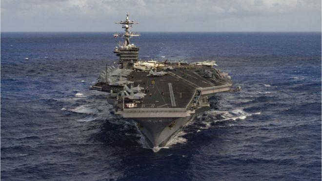Pyongyang reaccionó airadamente ante el despliegue naval de EE.UU. a la región/ Reuters