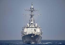 Los derribos se harían con el sistema de misiles antiáereo Aegis presente en destructores estadounidenses. El USS Nitze, en la foto (AFP)