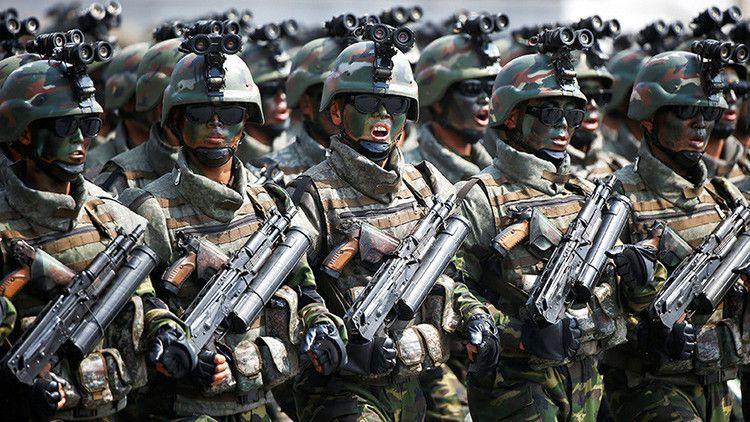 Los expertos consideran que las unidades de fuerzas especiales norcoreanas cuentan con unos 90.000 efectivos.