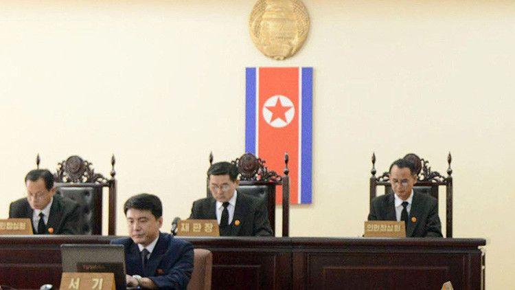 Un ciudadano estadounidense, exprofesor de una universidad china, ha sido detenido por las autoridades de Pionyang.