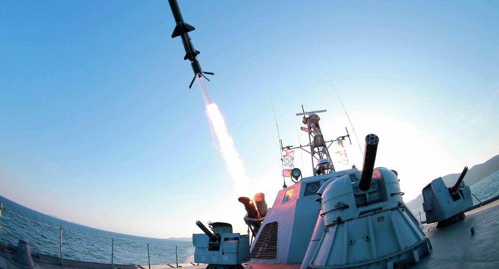 Hallan en Corea del Norte otra plataforma para lanzar misiles desde submarinos