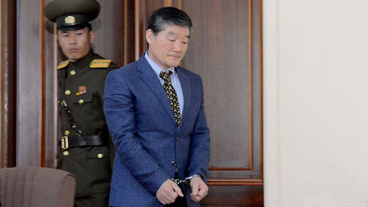 Dos ciudadanos estadounidenses han sido detenidos en Pionyang en las últimas semanas.