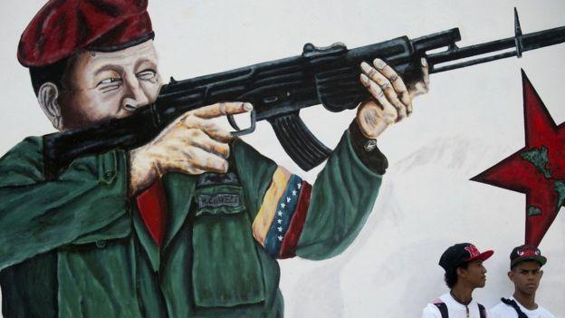 El chavismo ha promovido desde siempre la unión cívico-militar y más ahora en tiempos de conflicto político y social.