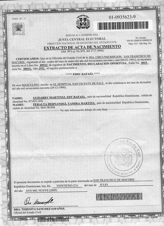 ELIMINARAN CERTIFICACIÓN Y LEGALIZACIÓN DE ACTAS - GALVEZ CUEVAS, S.R.L