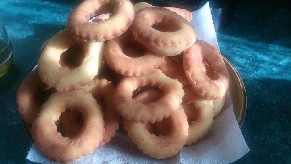 Donuts sans pétrissage et sans levée :