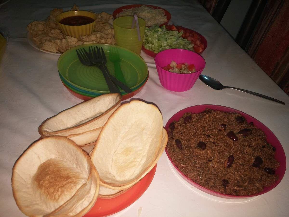 Tortilla à la mexicaine :