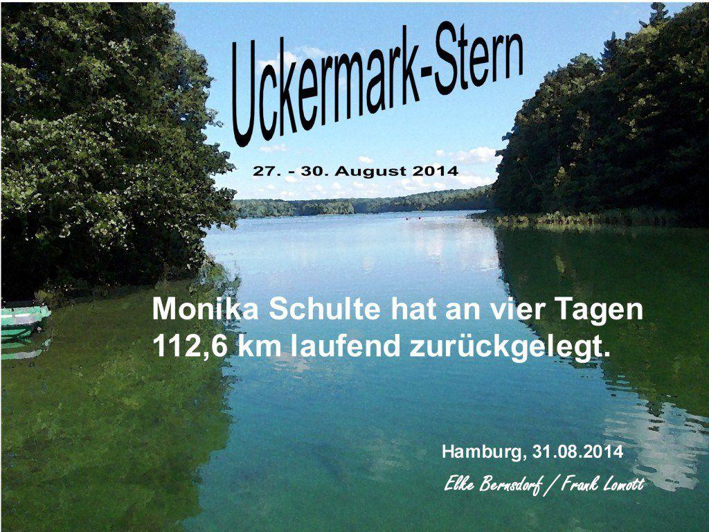 Uckermark-Stern&#x3B; Beurkundet