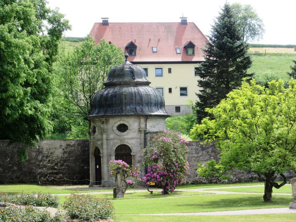Im Abteigarten