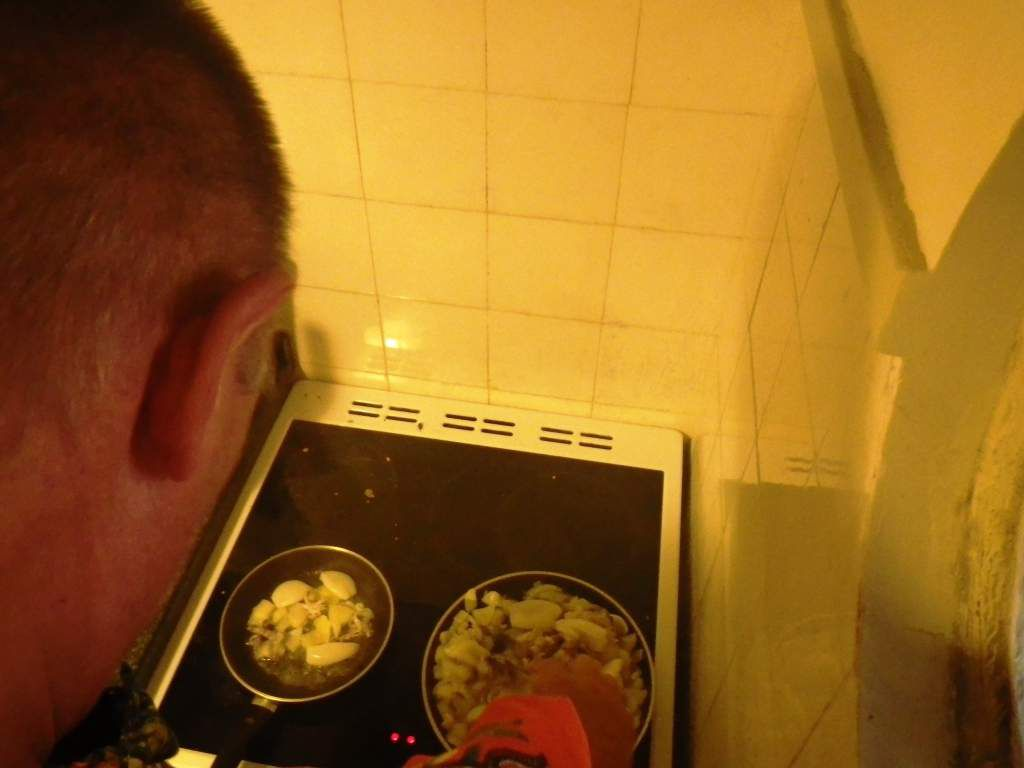 Heute kochen  wir selber