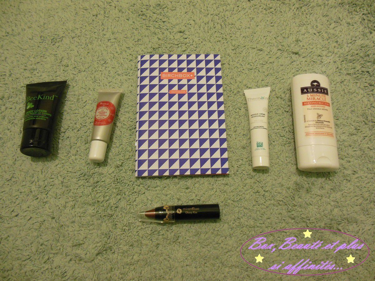 Birchbox Janvier 2015 - Fit &amp&#x3B; Pretty