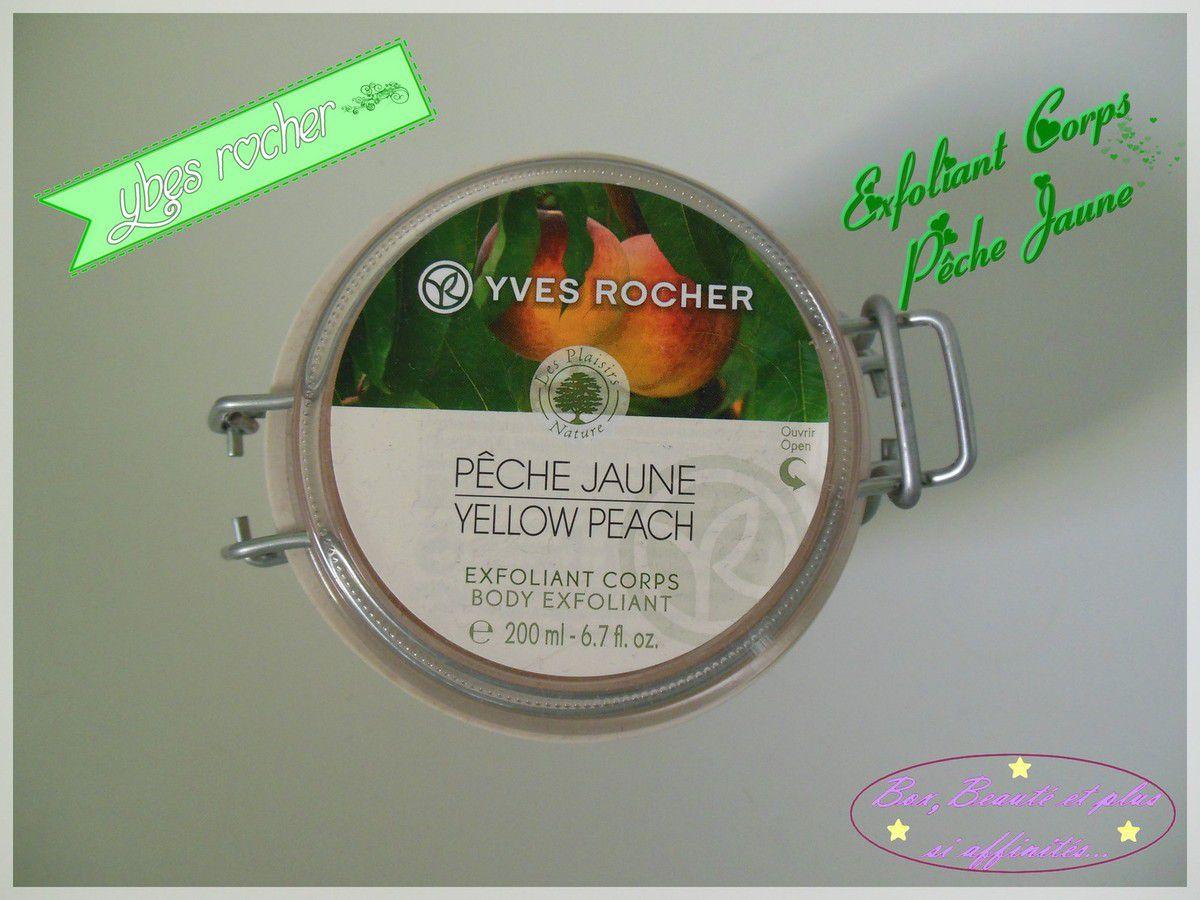 Yves Rocher - Exfoliant Corps à la Pêche Jaune