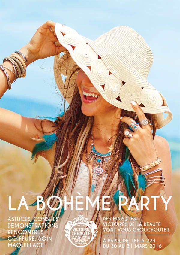 Bohème Party aux Victoires de la Beauté