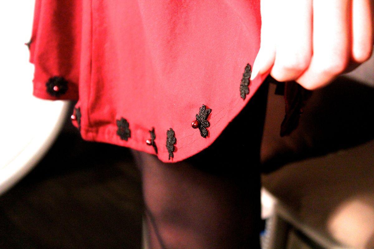 DIY - Customisation d'une jupe