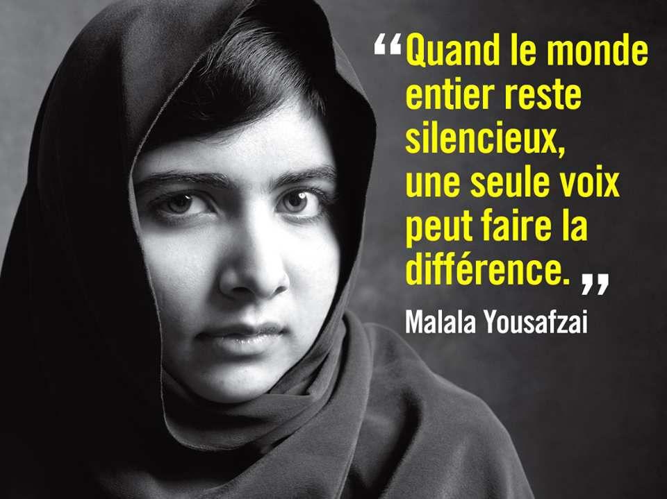 Malala Yousafzai, une voix contre l'obscurantisme