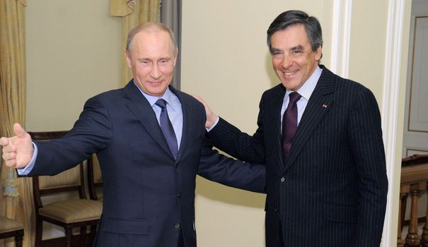 Poutine avec François Fillon.