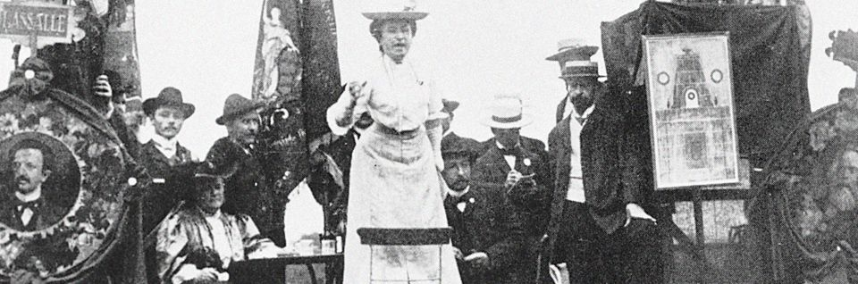 Discours de Rosa Luxemburg.