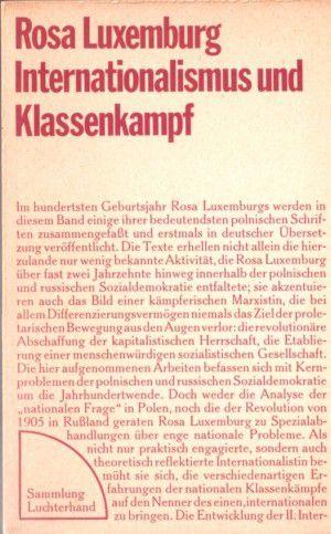 Rosa Luxemburg contre tous les nationalismes