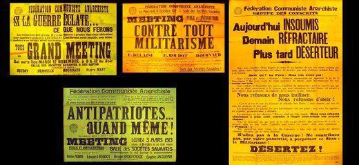 Affiches Fédération Communiste Anarchiste (FCA)